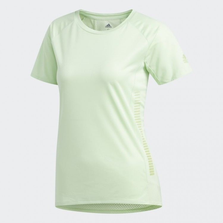 Dámske tričko Adidas Rise Up N Run Parley EI6312 zelené
