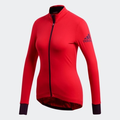 Dámske tričko Adidas W.Clmh.J.Ls BR9935 červená