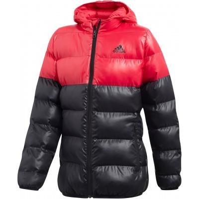 Adidas dievčenská bunda Synthetic Down CF1621 ružová