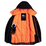 Quiksilver chlapčenská bunda Morton true black eqbtjO3127