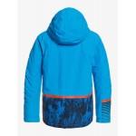 Quiksilver chlapčenská bunda Silvertip brilliant blue parafinum eqbtj03117