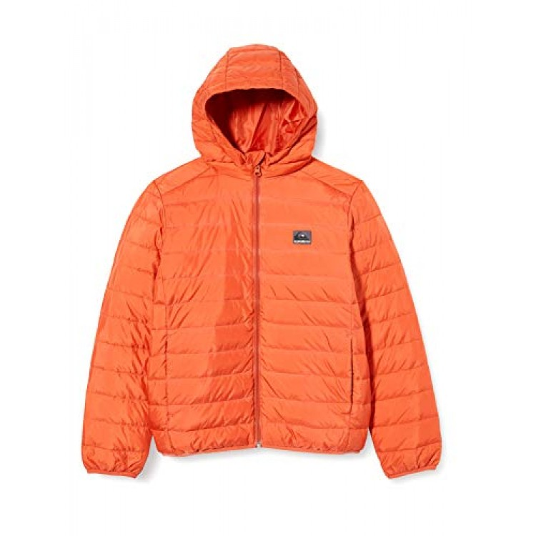 Quiksilver chlapčenská bunda Scaly Youth eqbjk03209 chili