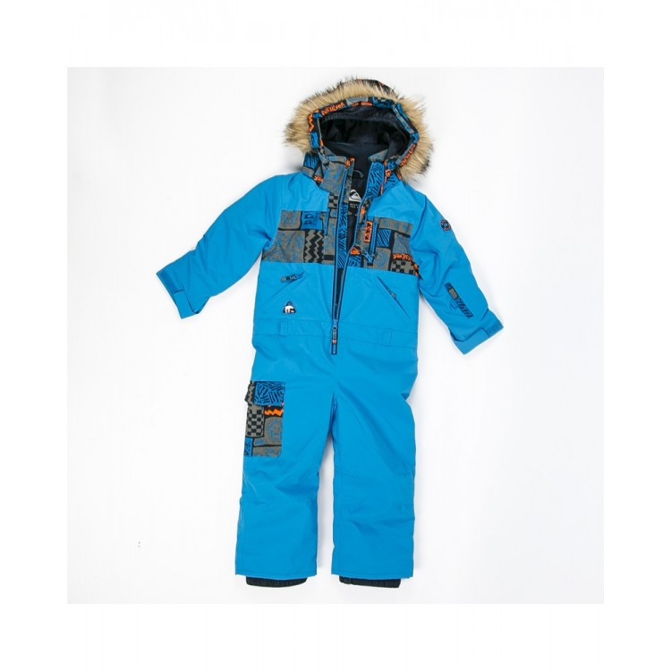 Quiksilver chlapčenská kombinéza/overal Rookie Kids Suit brilliant blue seqkts03006