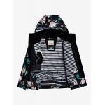 Roxy dievčenská bunda Jetty true black tropical day sergtj03101