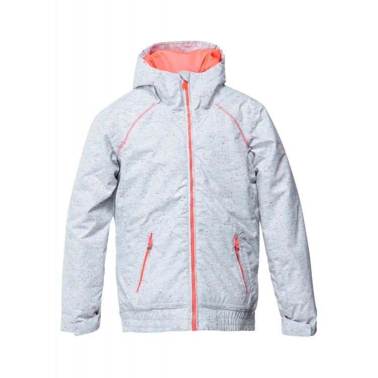 Roxy dievčenská lyžiarska/snowboardová bunda Valley Hoodie Girl ergtj00018