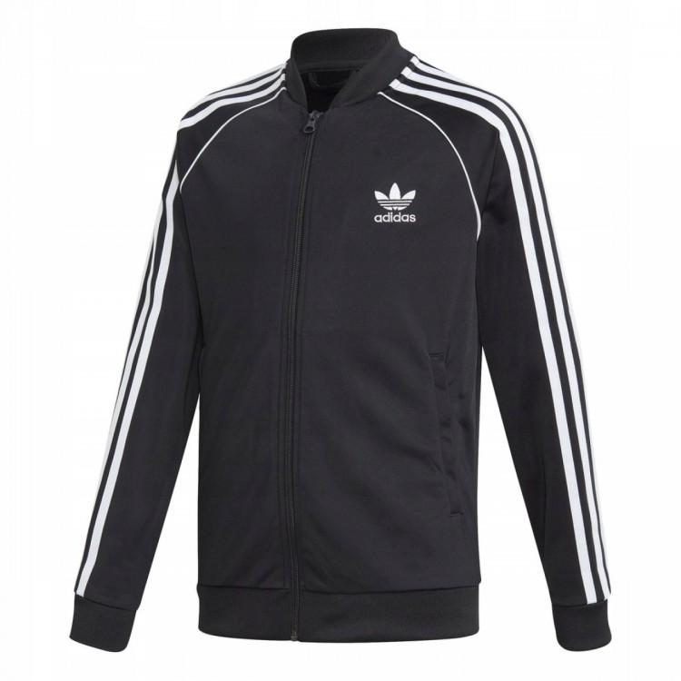 Detská mikina Adidas Superstar DV2896 čierna