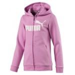 Puma dievčenská mikina Essentials Hooded Jacket 85176041 orchid
