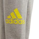 Adidas chlapčenské tepláky YB ID SPCR DV1667 sivé