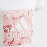 Dievčenské tričko Adidas Must Haves Doodle Badge of Sport FM4481 biele