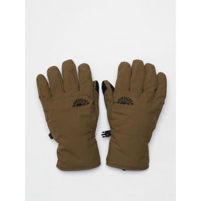 Quiksilver pánske lyžiarske/snowboardové rukavice Cross eqyhn03143 military olive zelené