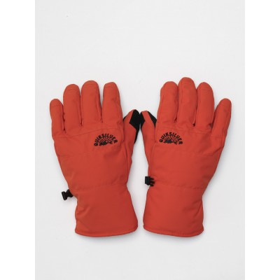 Quiksilver pánske lyžiarske/snowboardové rukavice Cross eqyhn03143 pureed pumpkin oranžové