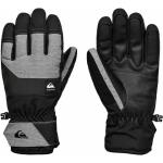 Quiksilver pánske lyžiarske/snowboardové rukavice Gates eqyhn03140 true black čierne