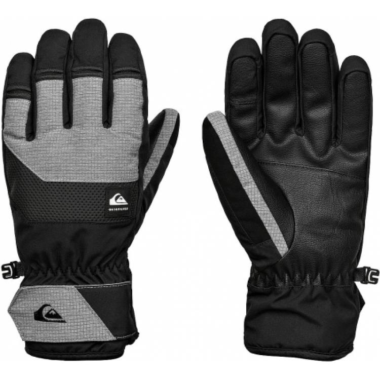 Quiksilver pánske lyžiarske/snowboardové rukavice Gates SEQYHN03140 true black čierne