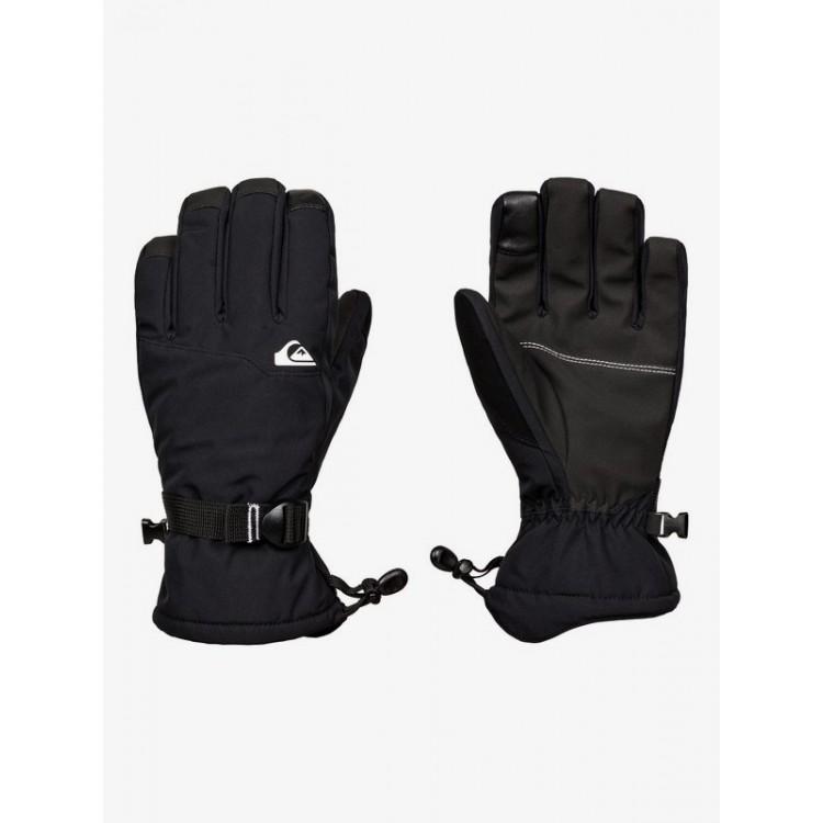 Quiksilver pánske lyžiarske/snowboardové rukavice Mission EQYHN03141 true black čierne