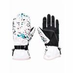 Roxy dámske lyžiarske/snowboardové rukavice Jetty erjhn03163 bright white izi biele