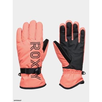 Roxy dámske lyžiarske/snowboardové rukavice Freshfield  erjhn03167 fusion coral červené