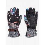 Roxy dámske lyžiarske/snowboardové rukavice Jetty SE Gloves  erjhn03174 true black pop flowers čierna potlač