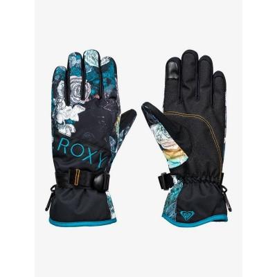 Roxy dámske lyžiarske/snowboardové rukavice Jetty Solid Gloves erjhn03163 true black sammy čierna potlač
