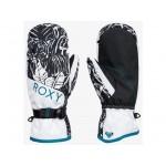 Roxy dámske lyžiarske/snowboardové palčiaky Jetty Mittens SERJHN03164 true black tiger camo čierne potlač