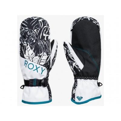Roxy dámske lyžiarske/snowboardové palčiaky Jetty Mittens erjhn03164 true black tiger camo čierne potlač