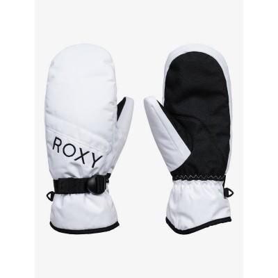 Roxy dámske lyžiarske/snowboardové palčiaky Jetty Solid Mittens  erjhn03166 bright white biele