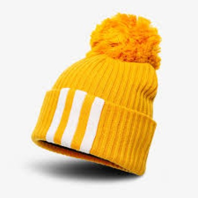 Čiapka Adidas Fat Brim Beanie ED8647 žltá