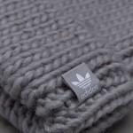 Čiapka Adidas Originals Heavy Knit Beanie Unisex ay9044 sivá