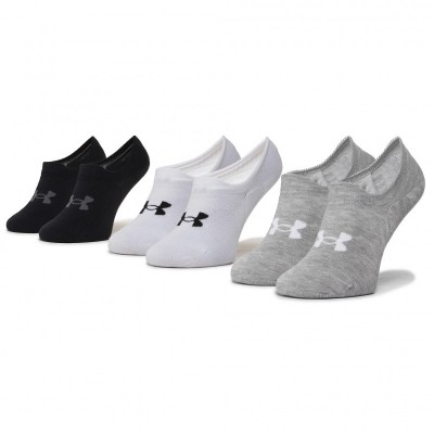 Ponožky Under Armour Ultra Lo-WHT 3-pack Unisex 1351784-100