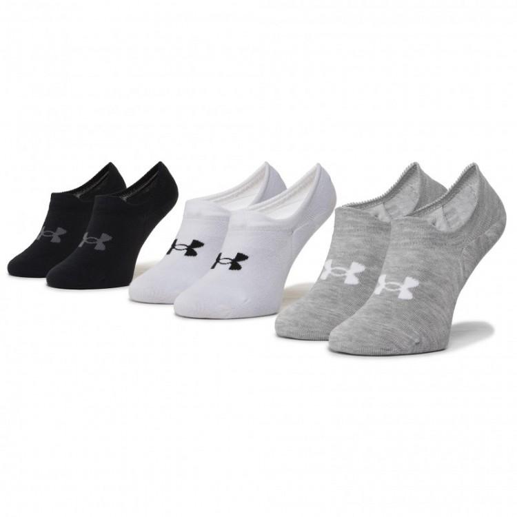 Ponožky dámske Under Armour Ultra Lo-WHT 3-pack 1351784-100