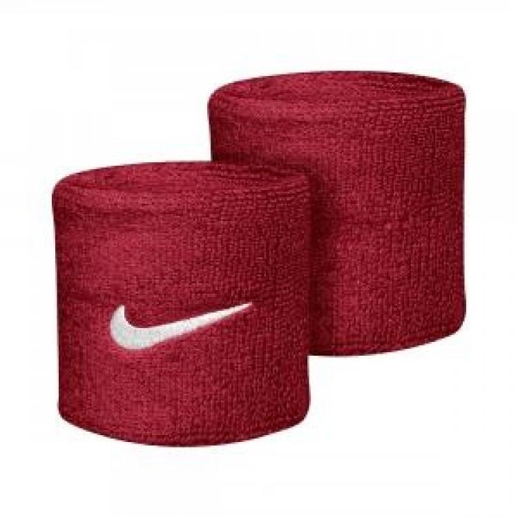 Potítka Nike Swoosh Wristbands červená