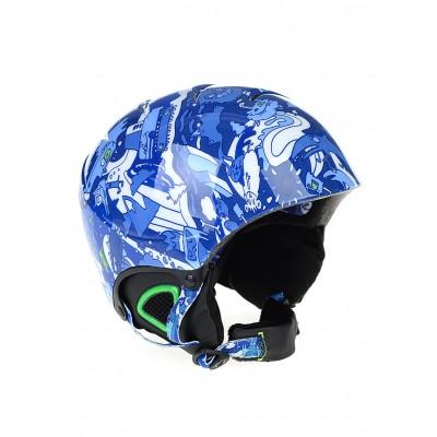 Quiksilver chlapčenská prilba The Game EQBTL03000 blue