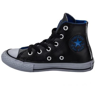 Converse dámska obuv All Star Chuck Tailor Leather 650004C čierna
