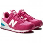 New Balance KL574CZG ružové