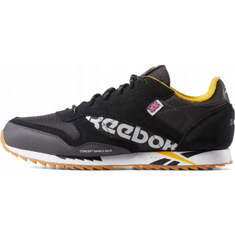 Reebok dámska obuv Classic Leather Ripple MU DV7455 čierne/farebné
