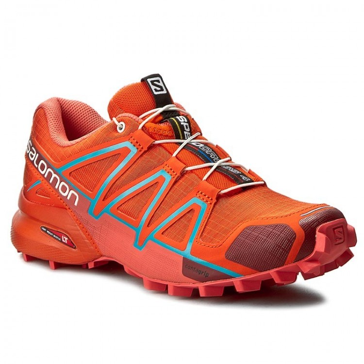 Salomon Speedcross 4 W 391834 tomato red/coral punch/blue jay