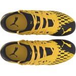 Puma kopačky Future 5.3 Netfit Fg/Ag jr ultra yellow/puma black 105806 03