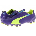 Puma kopačky evoSpeed 4.3 103018 01 violet/yellow/blue