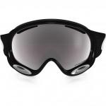 Oakley pánske lyžiarske/snowboardové okuliare A-Frame® 2.0 jet black w/prizm black iridium lens