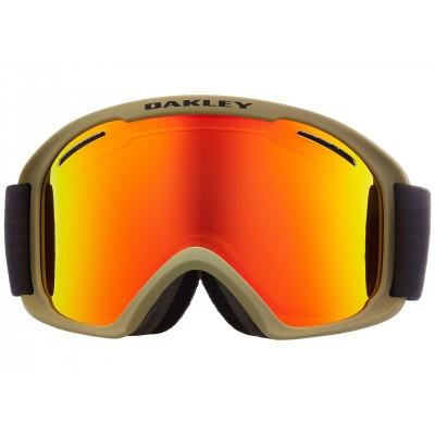 Oakley pánske lyžiarske/snowboardové okuliare O-Frame® 2.0 PRO XL canteen iron w/fire
