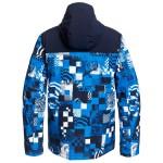 Quiksilver pánska bunda Morton brilliant blue eqytj03276
