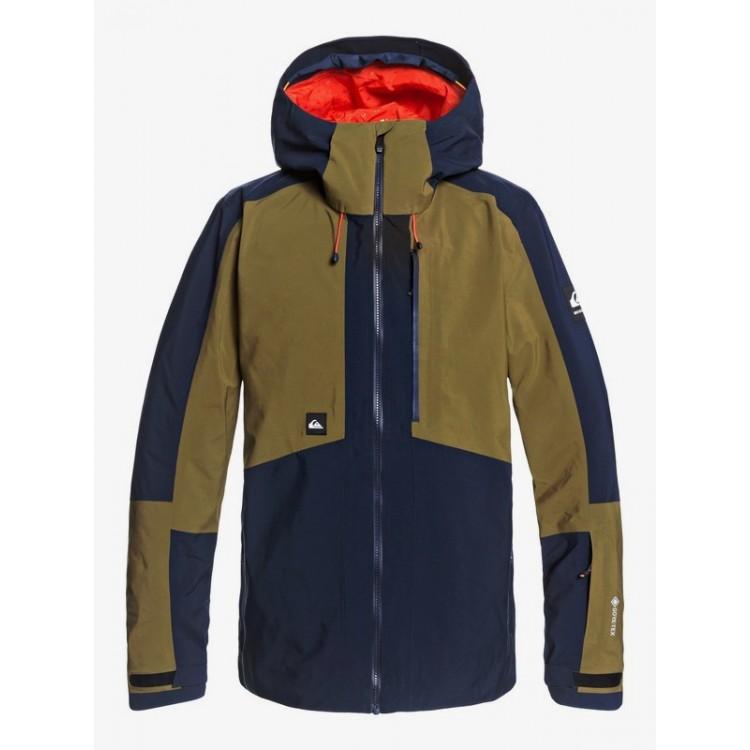 Quiksilver pánska bunda Forever 2L GORE-TEX® eqytj03252 military olive