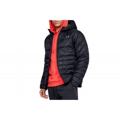 Pánska bunda Under Armour Insulated hooded Jacket 1342740 001 čierna