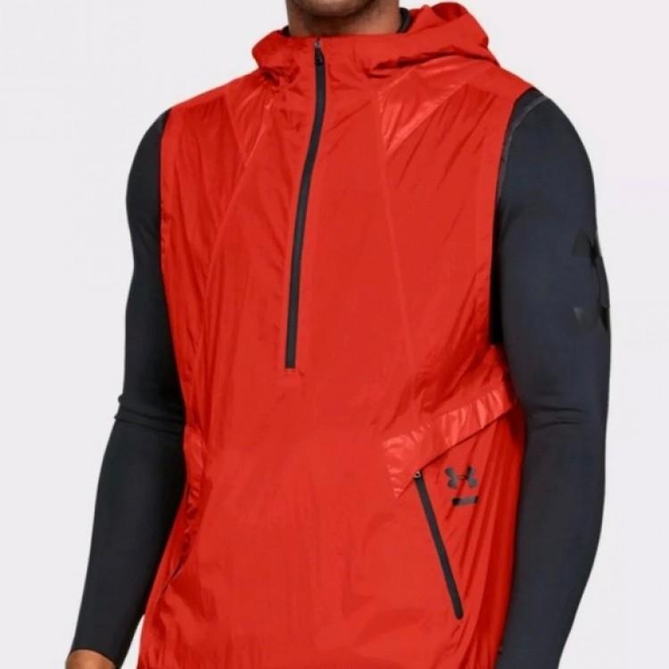 Pánska bežecká vesta Under Armour Perpetual Vest 1320977 890 oranžová