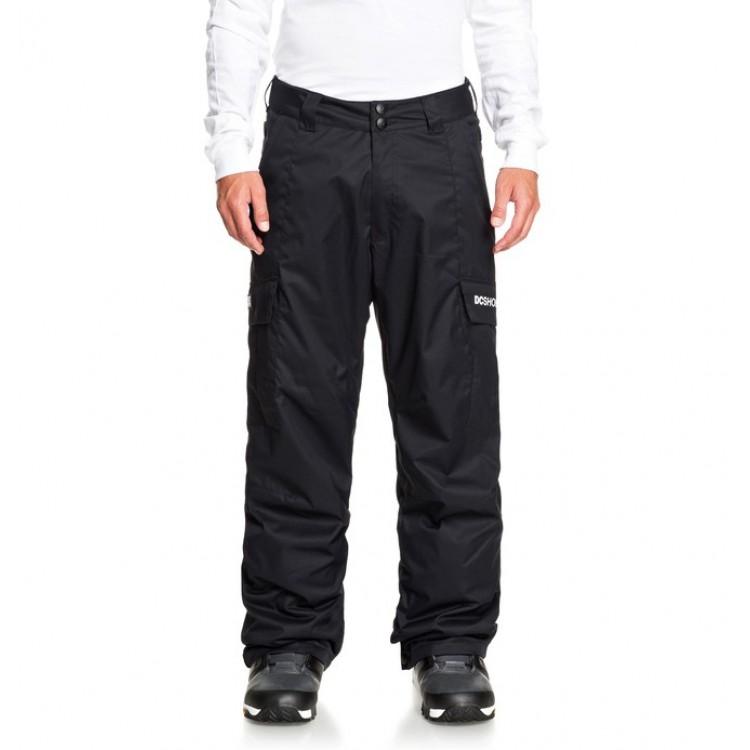 DC pánske snowboardové nohavice Banshee ADYTP03006 black kvj0 čierne
