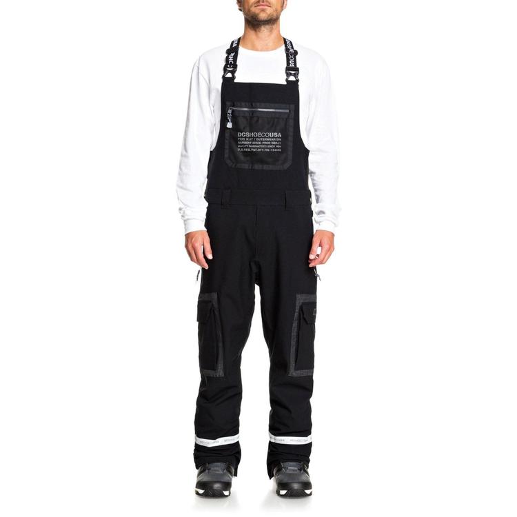 DC pánske snowboardové/lyžiarske nohavice FNS Revival EDYTP03053 black čierne