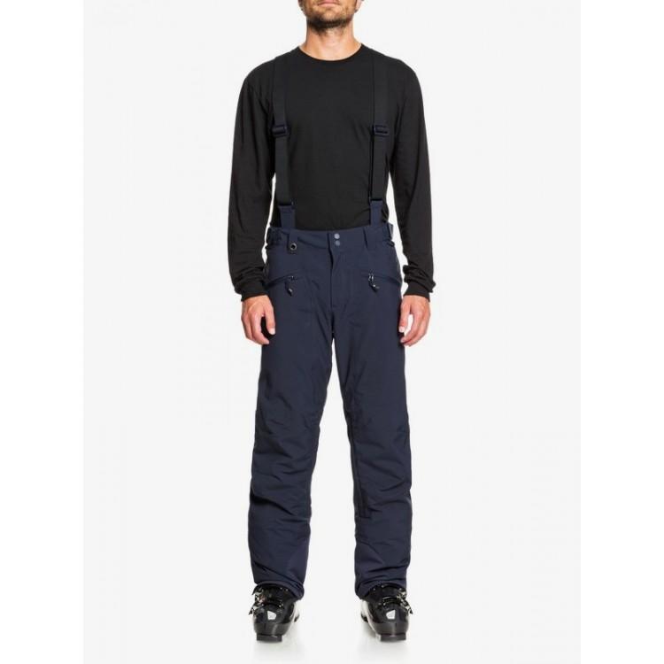 Quiksilver pánske lyžiarske/snowboardové nohavice Boundry Plus eqytp03143 navy blazer modré