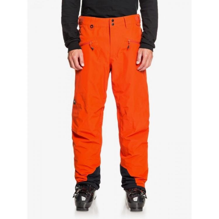 Quiksilver pánske lyžiarske/snowboardové nohavice Boundry eqytp03144 pureed pumpkin