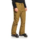 Quiksilver pánske lyžiarske/snowboardové nohavice Estate eqyto03146 military olive zelené
