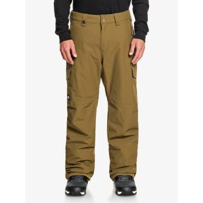 Quiksilver pánske lyžiarske/snowboardové nohavice Porter eqytp03145 military olive zelené