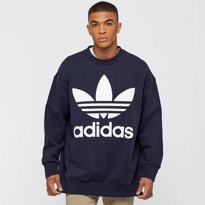 Pánska mikina Adidas Originals Crew BQ1797 modrá